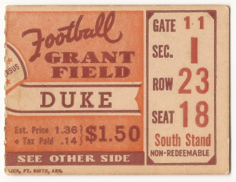 1937-10-16 - Georgia Tech vs. Duke