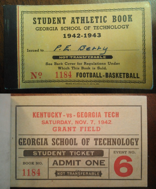 1942-11-07 - Georgia Tech vs. Kentucky - Student