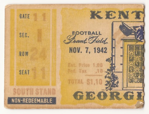 1942-11-07 - Georgia Tech vs. Kentucky
