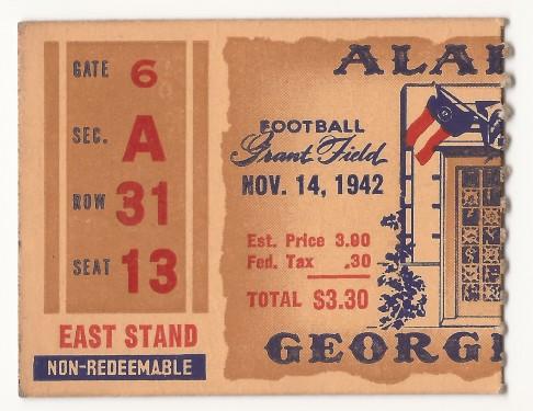 1942-11-14 - Georgia Tech vs. Alabama