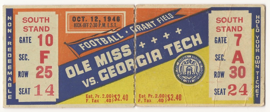 Georgia Tech vs. Mississippi - 1946