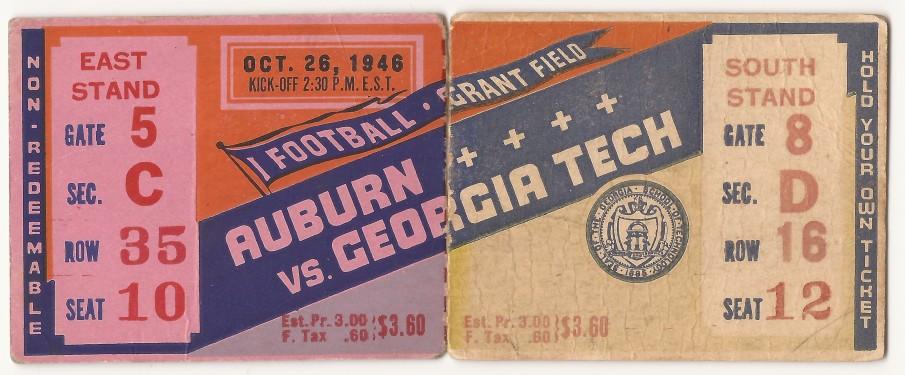 1946-10-26 - Georgia Tech vs. Auburn