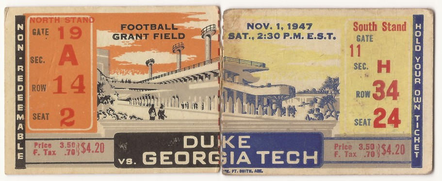 1947-11-01 - Georgia Tech vs. Duke