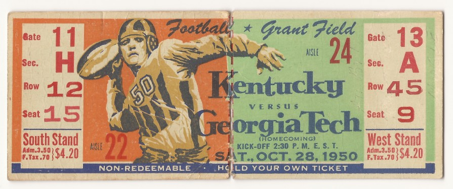 Georgia Tech vs. Kentucky - 1950