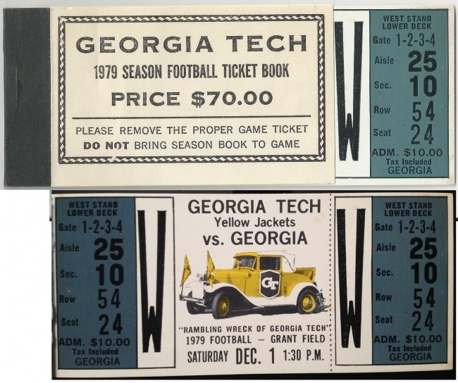 1979-12-01 - Georgia Tech vs. Georgia