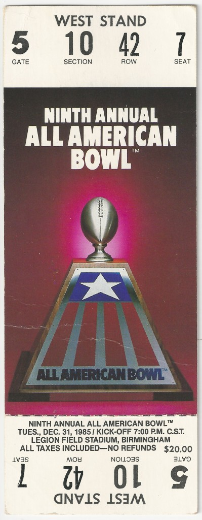 1985-12-31 - Georgia Tech vs. Michigan State - All American Bowl - Full