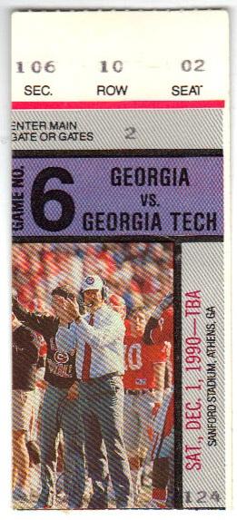 1990-12-01 - Georgia Tech at Georgia
