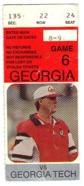 1994-11-25 - Georgia Tech at Georgia
