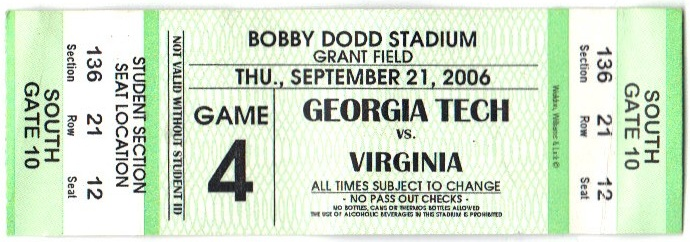 2006-09-21 - Georgia Tech vs. Virginia - Student
