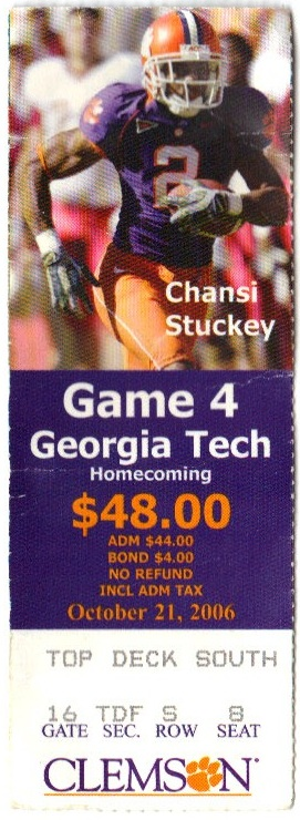 2006-10-21 - Georgia Tech at Clemson