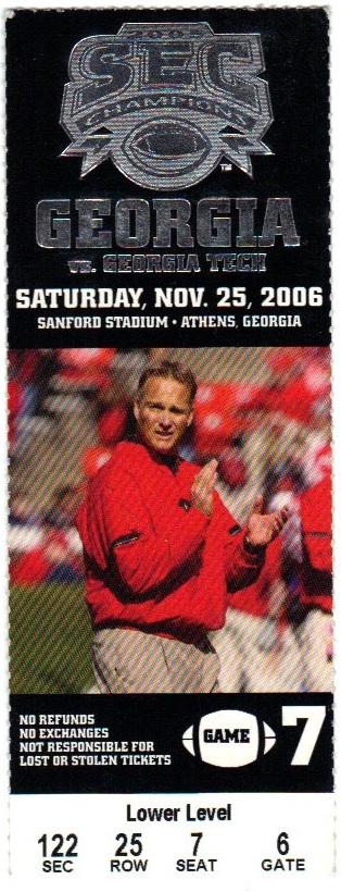 2006-11-25 - Georgia Tech at Georgia