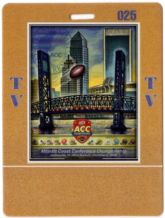 2006-12-02 - Georgia Tech vs. Wake Forest - ACC Championship - TV Pass