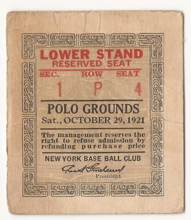 Georgia Tech vs. Penn State - Polo Grounds - 1921