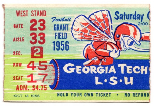 1956-10-13 - Georgia Tech vs. Louisiana State