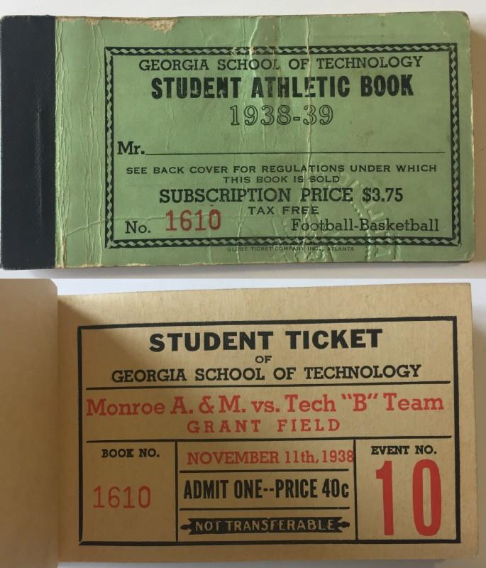 1938-11-11 - Georgia Tech B Team vs. Monroe A&M