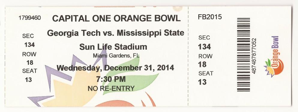 2014-12-31 - Georgia Tech vs. Mississippi State - Orange Bowl - Box Office