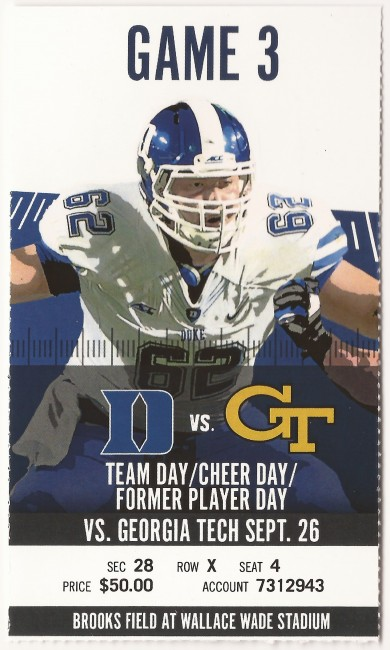 2015-09-26 - Georgia Tech at Duke